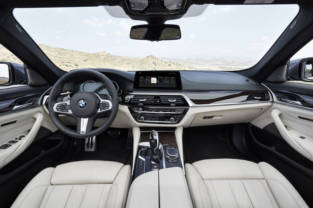 Nuevo BMW Serie 5 2017 - interior