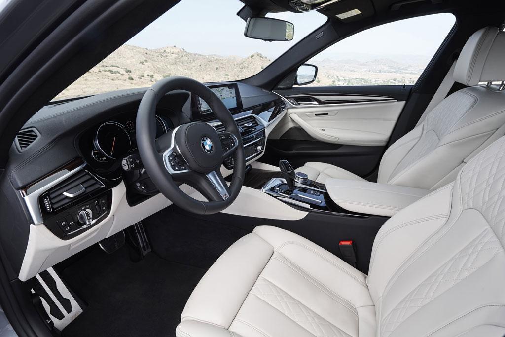 Nuevo BMW Serie 5 2017 - Puesto de conducción