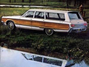 Chrysler Town&Country - Ejemplo de Rubia