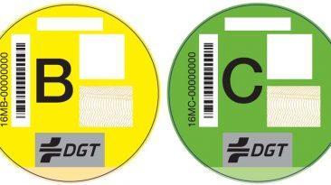 etiquetas DGT emisiones