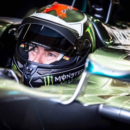 Jorge Lorenzo, piloto de F-1 por un día