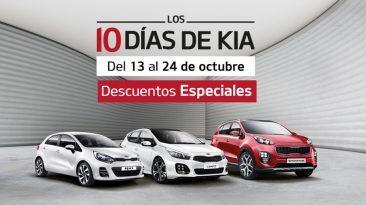 Del 13 al 24 de octubre KIA celebrará su séptima edición de los '10 días de KIA'.