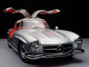 Mercedes 300 SL - Alas de Gaviota