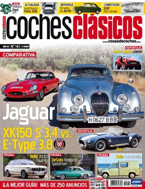 Revista COCHES CLÁSICOS número 141