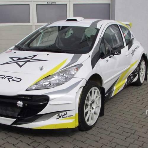El primer coche eléctrico para rallycross