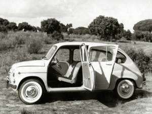 SEAT 800 - Puertas mira bragas