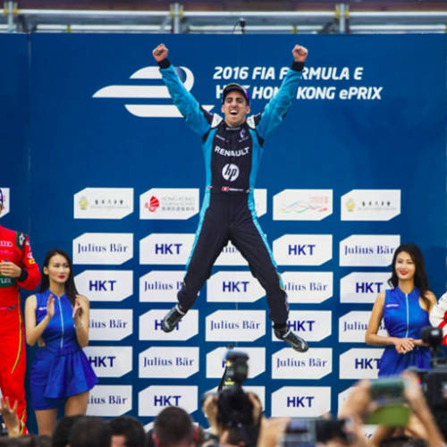 Buemi, primer ganador del año en Hong Kong