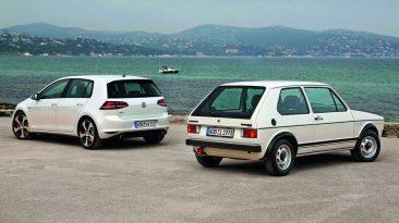 Volkswagen Golf GTI MK I y MK VII
