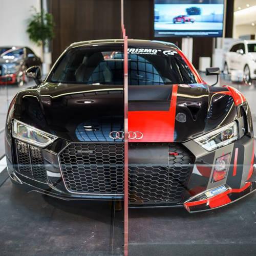 Mitad calle, mitad competición, así evoluciona el Audi R8