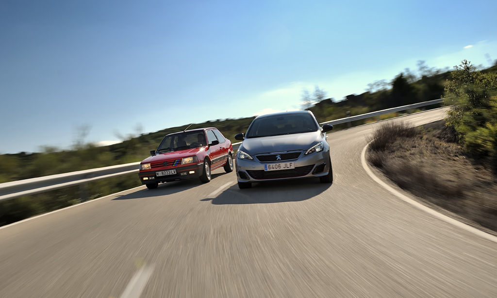 Comparativa Peugeot 309 GTI vs. 308 GTI