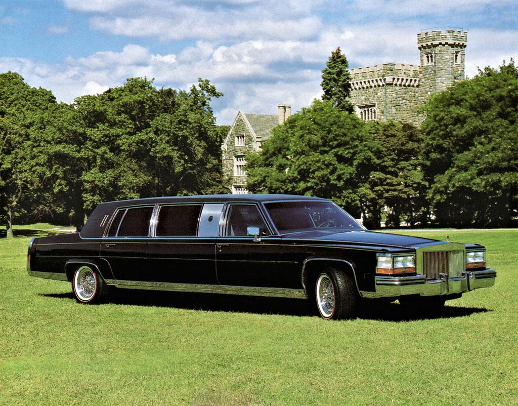Cadillac Limousine de Donald Trump
