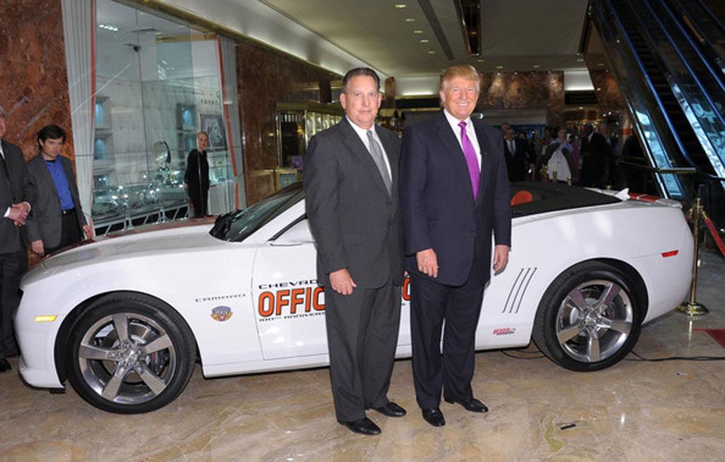 Chevrolet Camaro Indy 500 Pace Car de Donald Trump