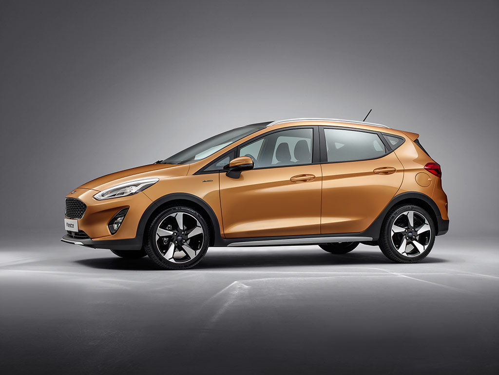 Ford Fiesta Active 2016