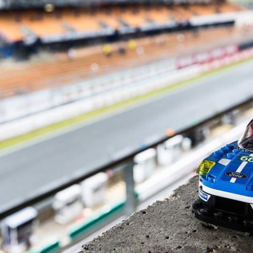 A la venta los Ford GT y GT40 de LEGO expuestos en Le Mans
