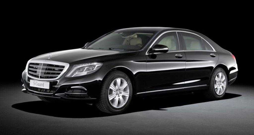 Mercedes-Benz S600 de Donald Trump