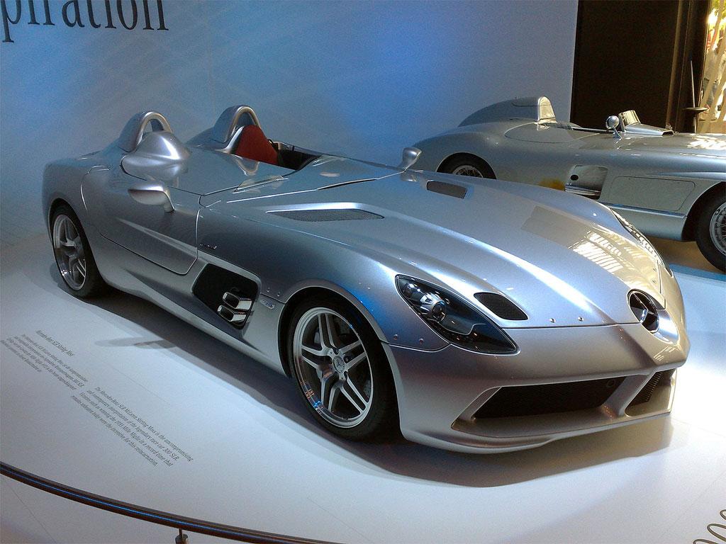 Mercedes-Benz SLR McLaren de Donald Trump