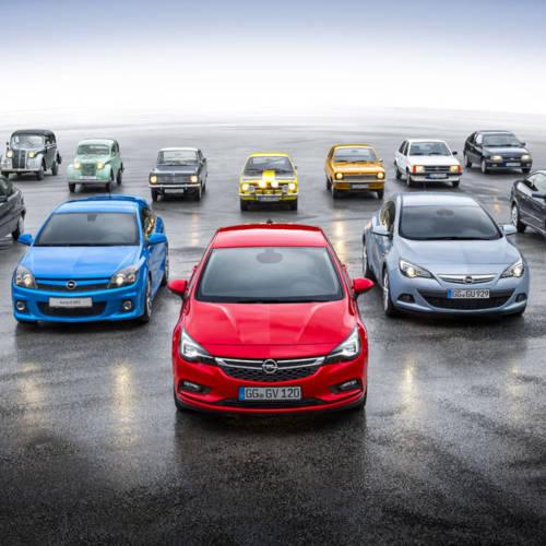 Los compactos de Opel cumplen 80 años