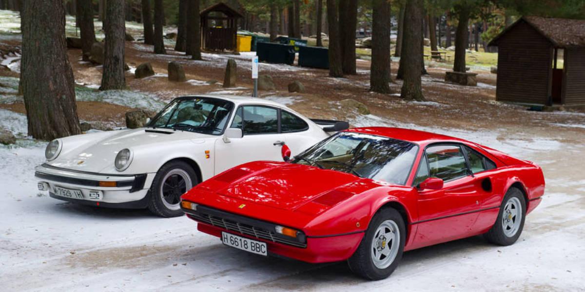 Porsche 911 SC vs. Ferrari 308 GTBi: la guerra de los ...