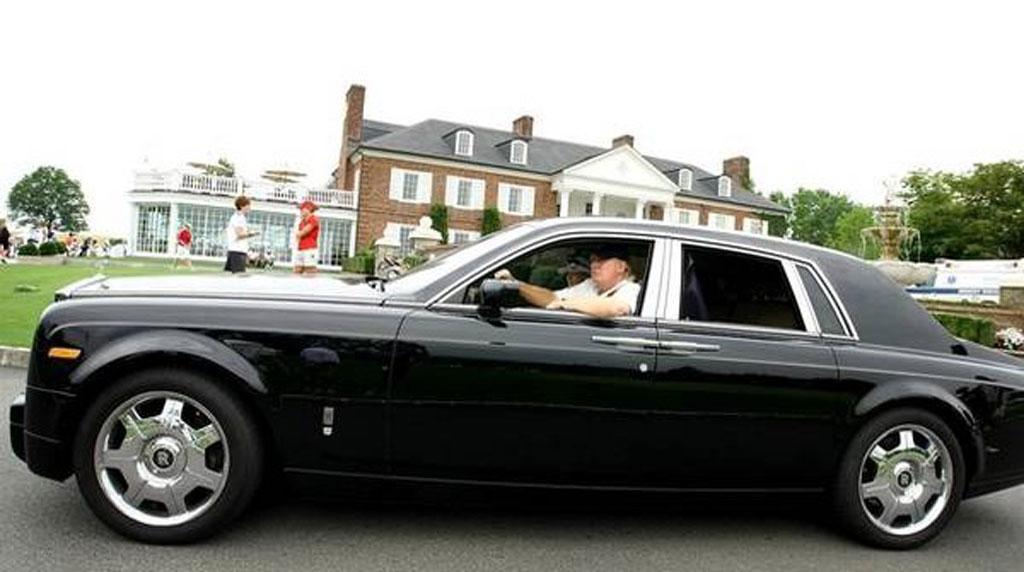 Rolls Royce Phantom de Donald Trump