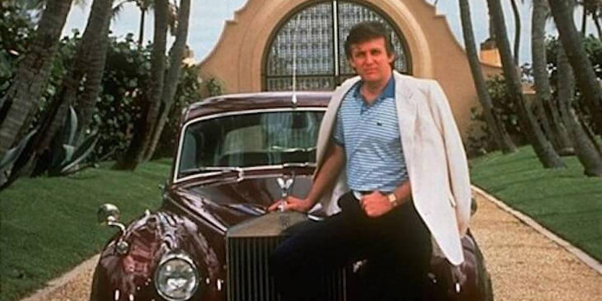 Esta es la colección de coches de Donald Trump