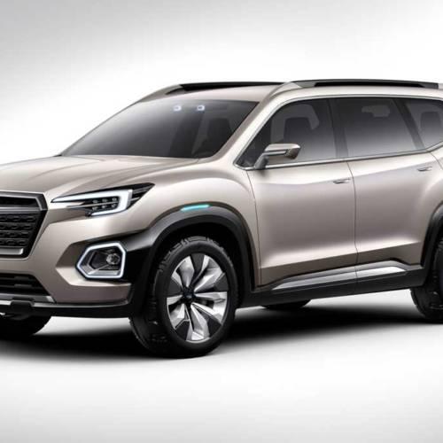 Subaru VIZIV-7 Concept, el futuro 7 plazas de la marca