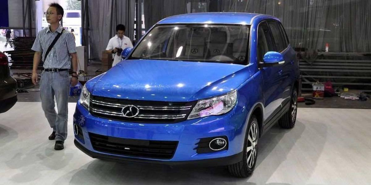 Las copias chinas más vergonzantes del mundo del automóvil