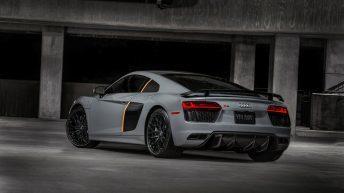 Audi R8 V10 Plus Exclusive Edition trasera
