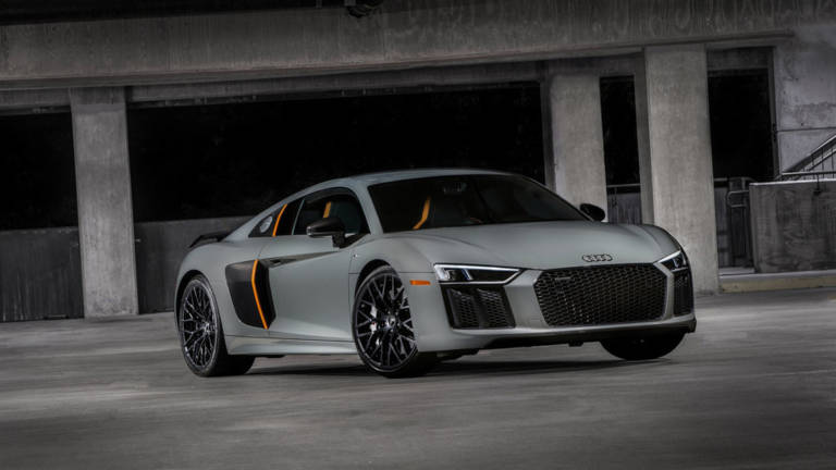 Audi R8 V10 Plus Exclusive Edition frontal