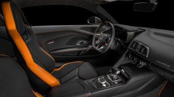 Audi R8 V10 Plus Exclusive Edition interior