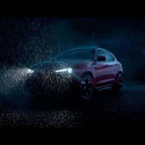 El Alfa Romeo Stelvio, en su primer vídeo promocional