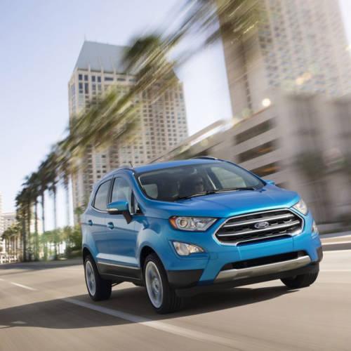 El nuevo Ford EcoSport americano adelanta lo que veremos en Europa