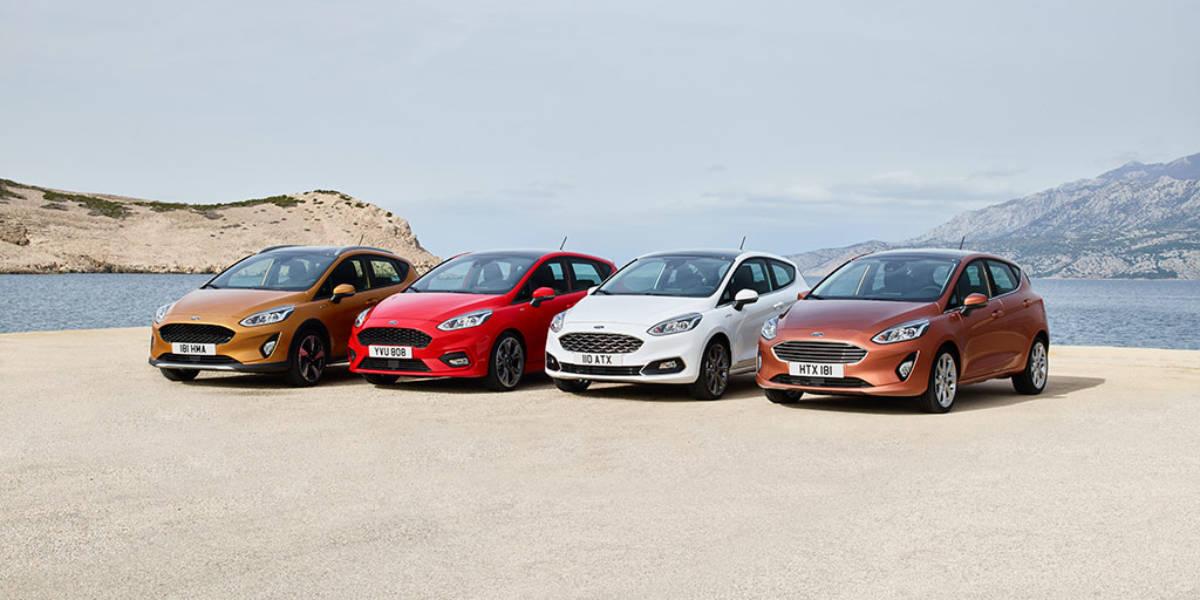 Ford presenta la nueva generación del Fiesta con cuatro versiones disponibles