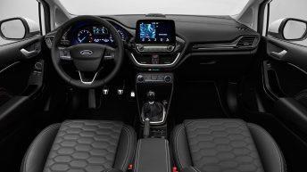interior Ford Fiesta Vignale 2016