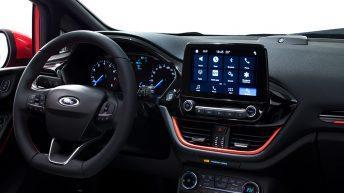 Interior Ford Fiesta 2016 ST Line