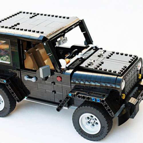 Este Jeep Wrangler de LEGO necesita tu ayuda