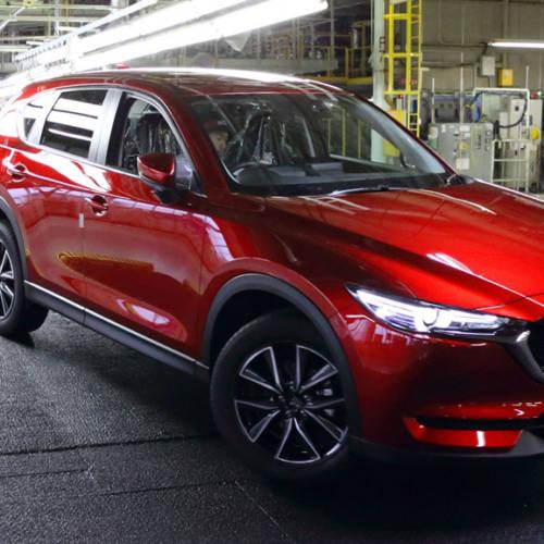 El nuevo Mazda CX-5 2017 ya sale de la cadena de montaje