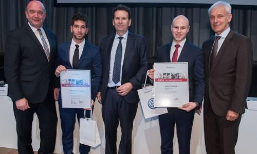 Un trabajador de Landaben – Navarra, entre los mejores jóvenes aprendices del Grupo Volkswagen