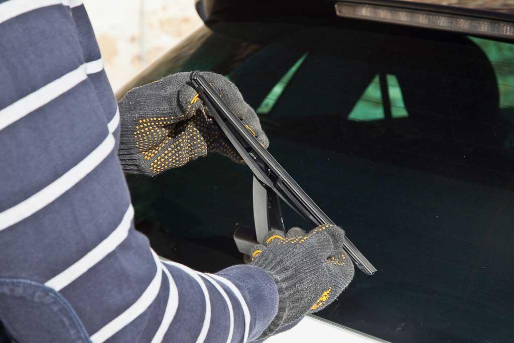 Revisión invernal del coche