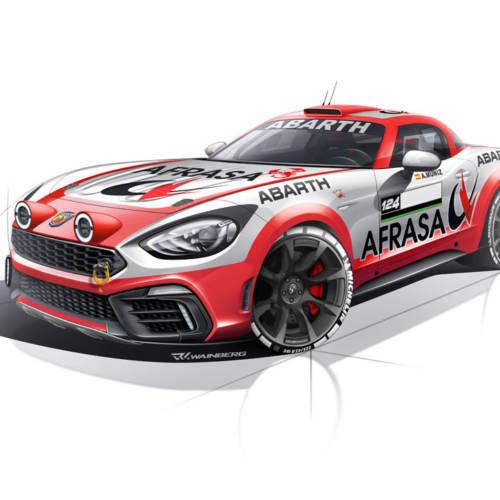 Abarth regresa al Nacional de Rallies con el 124 Rally pilotado por Álvaro Muñiz