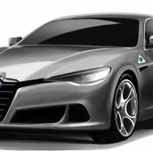 Nos imaginamos la nueva berlina de Alfa Romeo