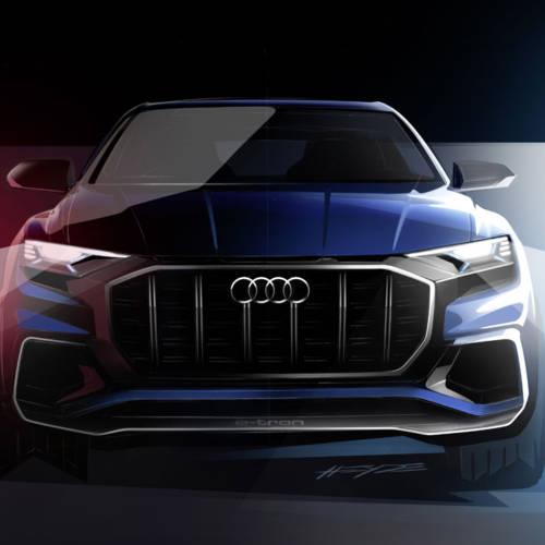 Audi Q8 Concept: la gran sorpresa de los cuatro aros para el Salón de Detroit