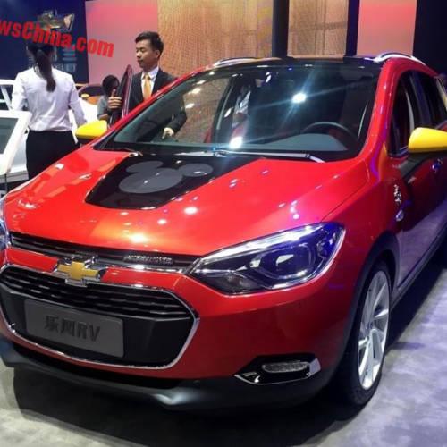 Llega el Chevrolet Lova RV Mickey Edition