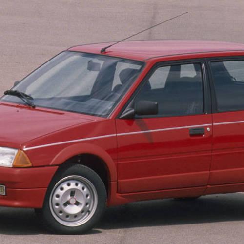 Citroën AX: sus más de 30 años en 10 claves de éxito