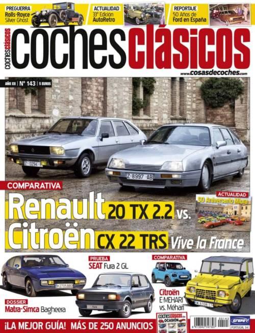 Revista COCHES CLÁSICOS número 143