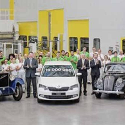 Skoda produce su coche número 19 millones