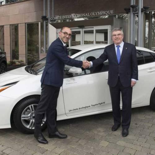 El COI se mueve con híbridos de Toyota y Lexus
