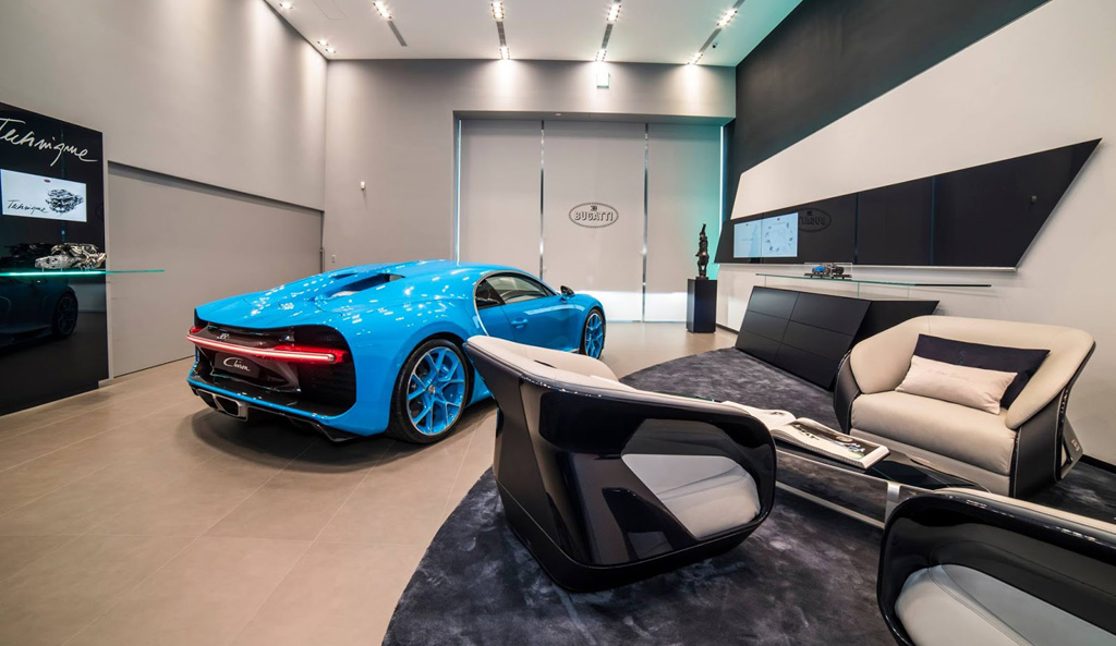 Concesionario Bugatti en Taiwán