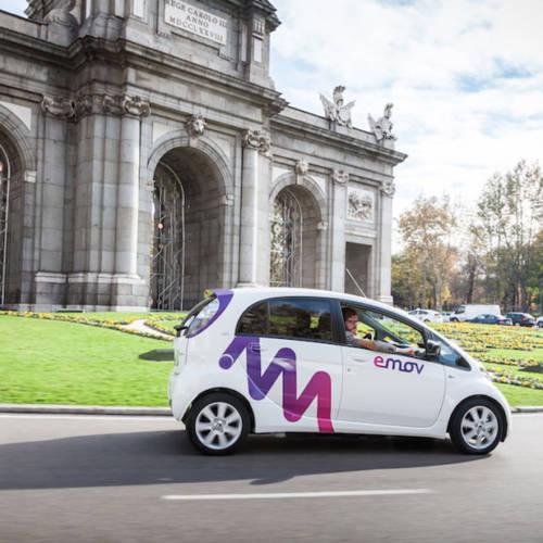 Llega a España emov, el nuevo servicio de car sharing