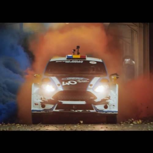 Ford celebra el 40 aniversario de su planta de Craiova con una Gymkhana