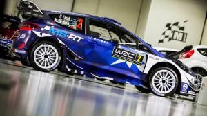 El Ford Fiesta WRC 2017 de M-Sport estrena decoración (fotos)